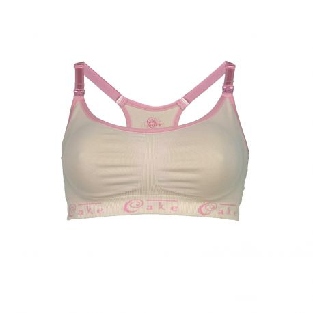 Cake Cotton Candy Seamless Nursing Bra Blush