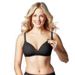Bravado Buttercup Black Nursing Bra