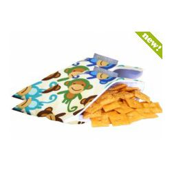 Itzy Ritzy Mini-Snack Happened Reusable Bags